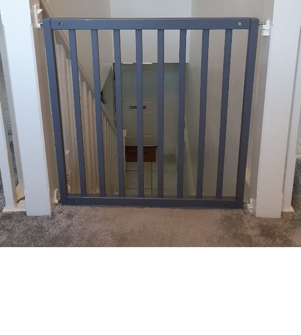 Slate Grey Wooden Gates
