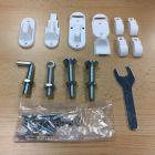 Bettacare Extending Metal White Fittings Kit