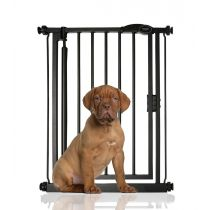 Bettacare Auto Close Pet Gate Extra Narrow Matt Black 61-66.5cm
