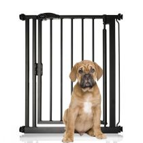 Bettacare Auto Close Pet Gate Narrow Matt Black 68.5-75cm