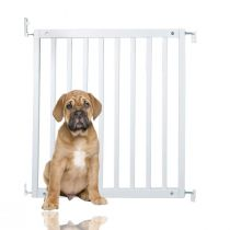 Bettacare Simply Secure Wooden Gate White 72cm- 79cm