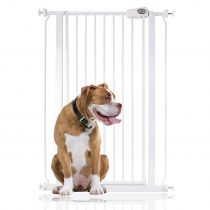 Bettacare Extra Tall Pressure Installed Premium Dog Gate White 75cm - 83cm