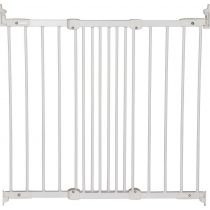 BabyDan Flexi Fit Gate Metal White 67cm - 105.5cm