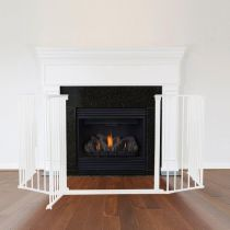 Safetots Multi Panel Fire Surround White 82D x 104W cm