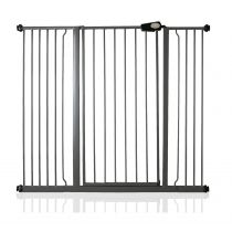 Safetots Extra Tall Pressure Fit Gate Slate Grey 126.7cm - 134.3cm