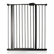 Safetots Extra Tall Pressure Fit Gate Matt Black 87.9cm - 95.5cm