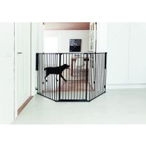 BabyDan Extra Tall Child and Pet Flex L Black 90cm - 223cm