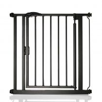 Safetots Self Closing Gate Matt Black Standard 75-82cm