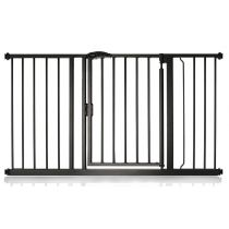 Safetots Self Closing Gate Matt Black 132.6cm - 139.6cm