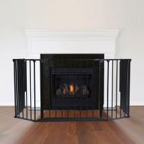 Safetots Multi Panel Fire Surround Black 82D x 104W cm
