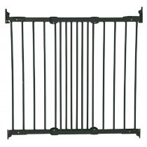BabyDan Flexi Fit Gate Metal Black 67cm - 105.5cm