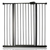 Safetots Extra Tall Pressure Fit Gate Matt Black 100.8cm - 108.4cm