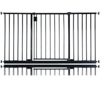 Safetots Extra Wide Hallway Gate Black 140.4cm  - 146.4cm