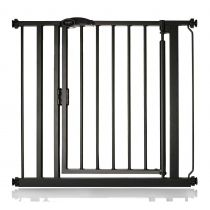 Safetots Self Closing Gate Matt Black 82.2cm - 89.2cm