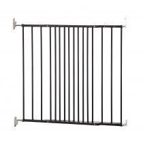 Safetots Extending Metal Gate Black 62.5cm - 106.8cm