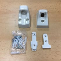Safetots Advanced Retractable White Fittings Kit