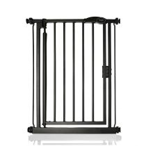 Safetots Self Closing Gate Matt Black Extra Narrow 61-66.5cm
