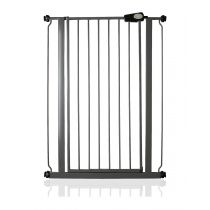 Safetots Extra Tall Pressure Fit Gate Slate Grey 75cm - 82.6cm