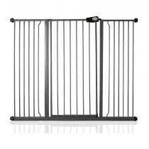 Safetots Extra Tall Pressure Fit Gate Slate Grey 139.8cm - 147.4cm