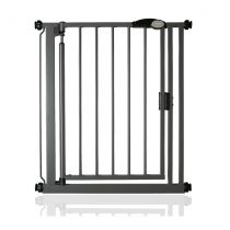 Safetots Self Closing Gate Slate Grey Narrow 68.5-75cm