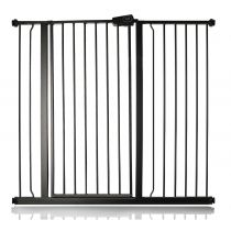 Safetots Extra Tall Pressure Fit Gate Matt Black 113.8cm - 121.4cm