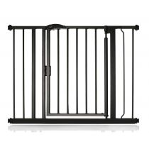 Safetots Self Closing Gate Matt Black 96.6cm - 103.6cm