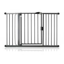 Safetots Self Closing Gate Slate Grey 132.6cm - 139.6cm