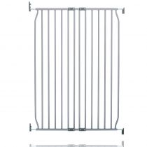 Safetots Extra Tall Eco Screw Fit Baby Gate Grey 80cm - 90cm
