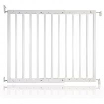 Safetots Chunky Wooden Screw Fit Gate White 63.5cm - 105.5cm