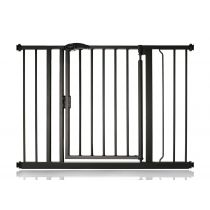 Safetots Self Closing Gate Matt Black 103.8cm - 110.8cm