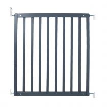 Safetots Simply Secure Wooden Gate Grey 72cm- 79cm