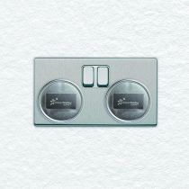 Dreambaby Electric Silver Socket Covers UK Pack of 24