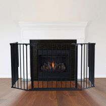 Safetots Multi Panel Fire Surround Black 88D x 104W cm