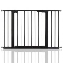 Safetots No Screw Gate Black 105.5cm - 112.8cm