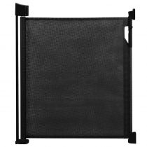 Safetots Advanced Retractable Gate Black