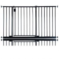Bettacare Extra Wide Hallway Pet Gate Black 121.8cm - 127.8cm