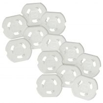 Safetots Plug Socket Covers Pack of 12
