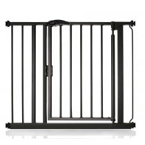 Safetots Self Closing Gate Matt Black 89.4cm - 96.4cm