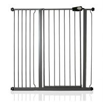 Safetots Extra Tall Pressure Fit Gate Slate Grey 107.4cm - 115cm