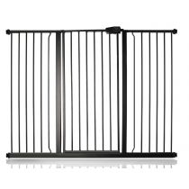 Safetots Extra Tall Pressure Fit Gate Matt Black 139.8cm - 147.4cm
