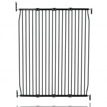 Safetots Extra Tall Eco Screw Fit Baby Gate Black 130cm - 140cm