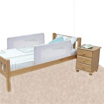 Safetots Double Sided Bed Rail White