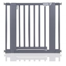 Safetots Wooden Pressure Fit  Gate Grey 89cm-97cm