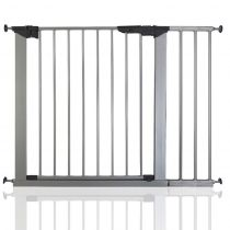 Safetots No Screw Gate Silver 92.5cm - 99.8cm