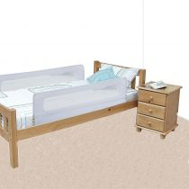 Safetots Extra Wide Double Sided Mesh Bed Rail White