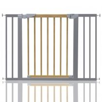 Safetots Beechwood and Metal Pressure Fit Gate 103.2cm - 110.6cm