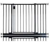 Safetots Extra Wide Hallway Gate Black 103.2cm  - 109.2cm