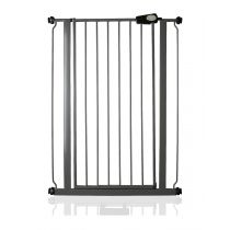 Safetots Extra Tall Pressure Fit Gate Slate Grey 81.4cm - 89cm