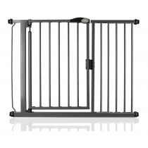 Safetots Self Closing Gate Slate Grey 111cm - 118cm