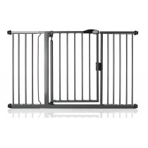 Safetots Self Closing Gate Slate Grey 139.8cm - 146.8cm